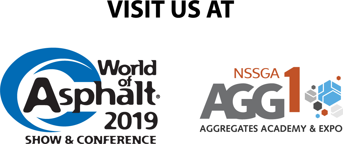 World of Asphalt 2018 Visit Us Logo